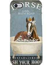 Horse Girl Horse Bath Soap Wash Phone Case thumbnail