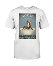 Horse Girl Horse Bath Soap Wash Classic T-Shirt thumbnail