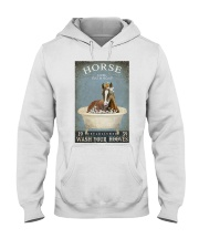 Horse Girl Horse Bath Soap Wash Hooded Sweatshirt thumbnail