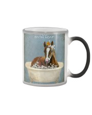 Horse Girl Horse Bath Soap Wash Color Changing Mug thumbnail