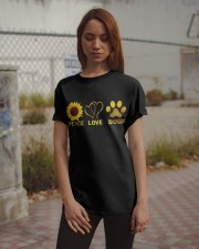 Peace Love Dogs Classic T-Shirt apparel-classic-tshirt-lifestyle-18
