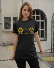 Peace Love Dogs Classic T-Shirt apparel-classic-tshirt-lifestyle-19