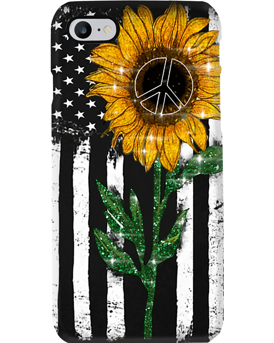 Peace Sunflower Phone Case