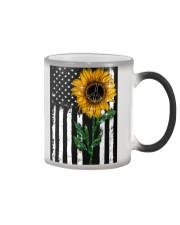 Peace Sunflower Color Changing Mug thumbnail