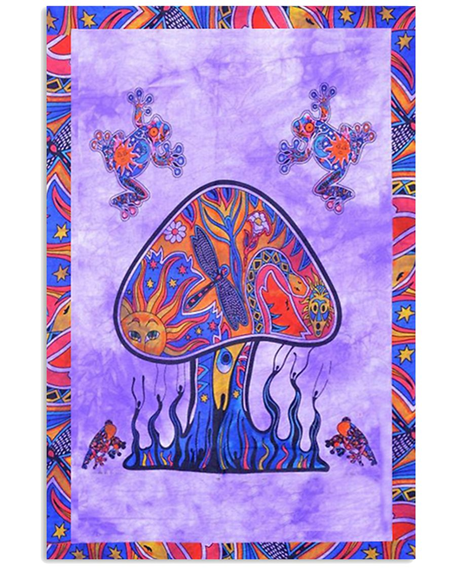 Psychedelic Mushroom 16x24 Poster
