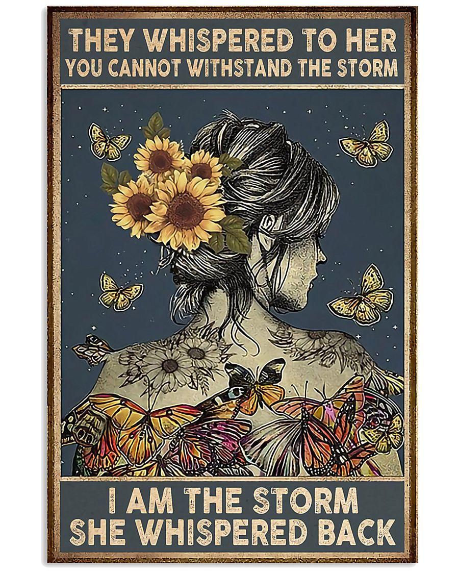 Sunflower Girl 11x17 Poster