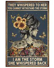 Sunflower Girl 11x17 Poster front
