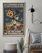 Sunflower Girl 11x17 Poster lifestyle-poster-1
