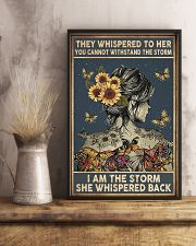 Sunflower Girl 11x17 Poster lifestyle-poster-3