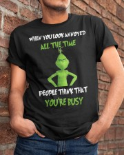 When You're Annoyed Classic T-Shirt apparel-classic-tshirt-lifestyle-26