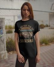 I'm Just Here For The Savasana Classic T-Shirt apparel-classic-tshirt-lifestyle-18