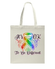 It's Ok To Be Different Tote Bag thumbnail