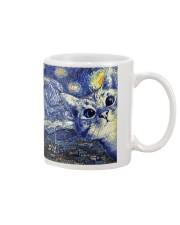 Catty Starry Night Mug thumbnail