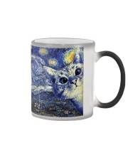 Catty Starry Night Color Changing Mug thumbnail