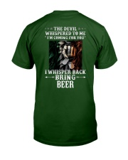 Irish Beer Classic T-Shirt back