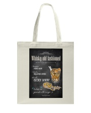 Old Fashioned Whiskey Tote Bag thumbnail