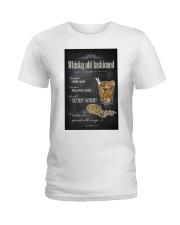 Old Fashioned Whiskey Ladies T-Shirt thumbnail