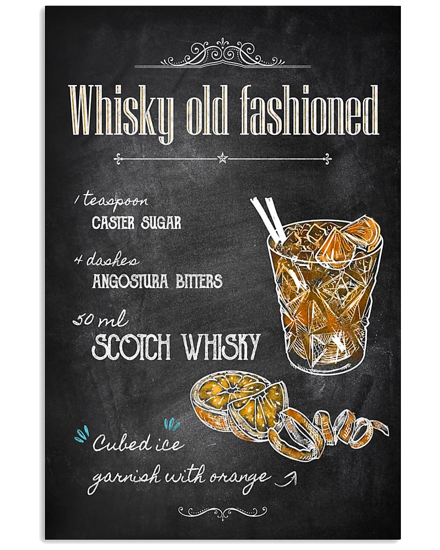 Old Fashioned Whiskey 11x17 Poster