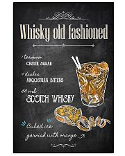 Old Fashioned Whiskey 11x17 Poster front