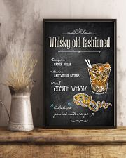 Old Fashioned Whiskey 11x17 Poster lifestyle-poster-3