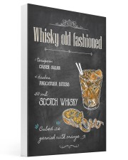 Old Fashioned Whiskey 16x24 Gallery Wrapped Canvas Prints thumbnail