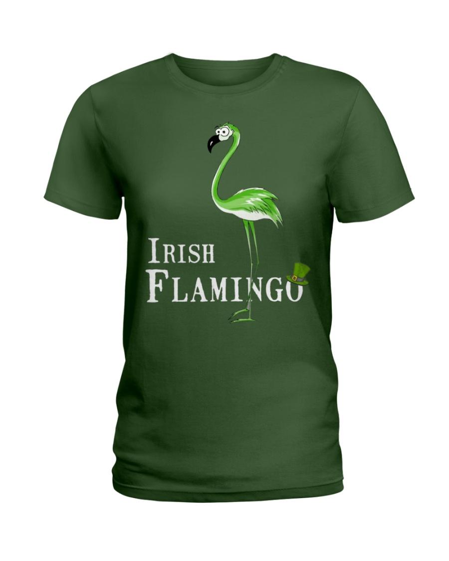 Irish Flamingo Ladies T-Shirt