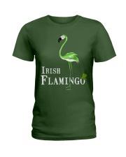 Irish Flamingo Ladies T-Shirt front