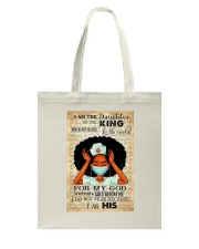 I Am The Daughter Of The King Tote Bag thumbnail