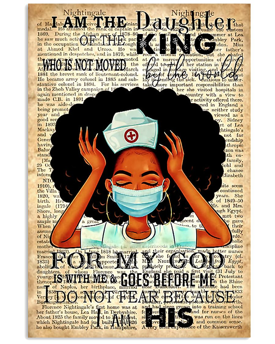 I Am The Daughter Of The King 11x17 Poster