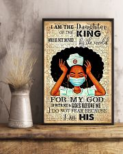 I Am The Daughter Of The King 11x17 Poster lifestyle-poster-3