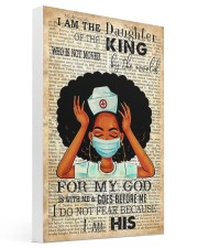 I Am The Daughter Of The King 16x24 Gallery Wrapped Canvas Prints thumbnail