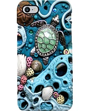 Turtle In Ocean Phone Case i-phone-7-case