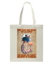 Hippie Mermaid Tote Bag thumbnail