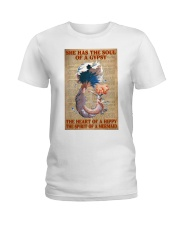 Hippie Mermaid Ladies T-Shirt thumbnail