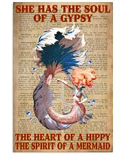 Hippie Mermaid 11x17 Poster front