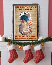 Hippie Mermaid 11x17 Poster lifestyle-holiday-poster-4