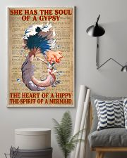 Hippie Mermaid 11x17 Poster lifestyle-poster-1