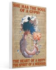 Hippie Mermaid 16x24 Gallery Wrapped Canvas Prints thumbnail
