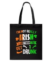 Irish Drunk Tote Bag thumbnail