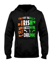 Irish Drunk Hooded Sweatshirt thumbnail