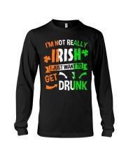 Irish Drunk Long Sleeve Tee thumbnail