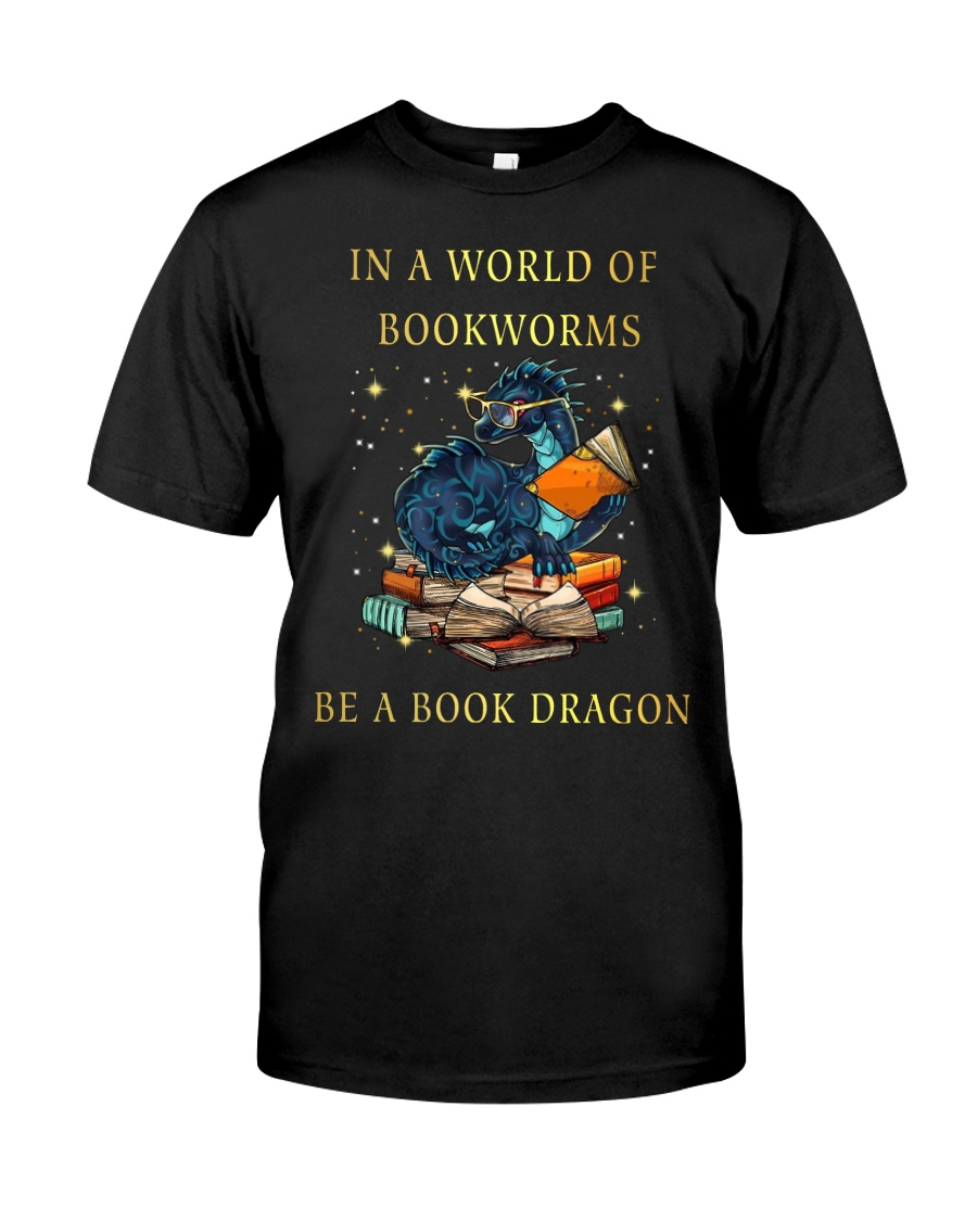 Be A Book Dragon Classic T-Shirt