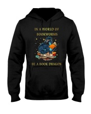 Be A Book Dragon Hooded Sweatshirt thumbnail