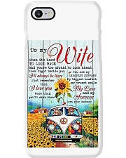 To My Wife Hippie Phone Case thumbnail