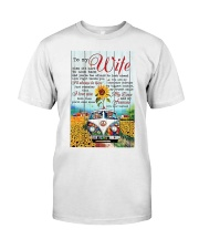 To My Wife Hippie Classic T-Shirt thumbnail
