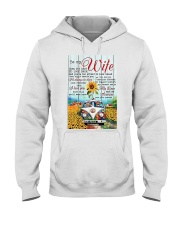 To My Wife Hippie Hooded Sweatshirt thumbnail
