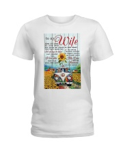 To My Wife Hippie Ladies T-Shirt thumbnail
