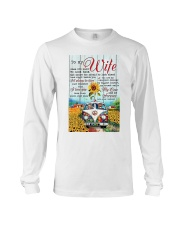 To My Wife Hippie Long Sleeve Tee thumbnail