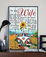 To My Wife Hippie 11x17 Poster lifestyle-poster-2