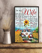 To My Wife Hippie 11x17 Poster lifestyle-poster-3